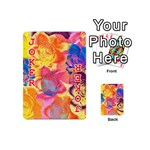 Pop Art Roses Playing Cards 54 (Mini)  Front - Joker2