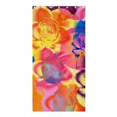 Pop Art Roses Shower Curtain 36  X 72  (stall)