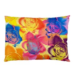 Pop Art Roses Pillow Case (Two Sides)