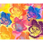 Pop Art Roses Deluxe Canvas 14  x 11  14  x 11  x 1.5  Stretched Canvas