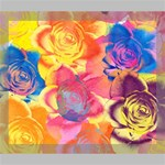 Pop Art Roses Deluxe Canvas 24  x 20   24  x 20  x 1.5  Stretched Canvas
