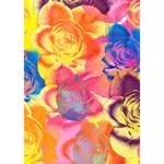Pop Art Roses GIRL 3D Greeting Card (7x5) Inside