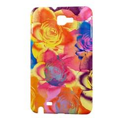 Pop Art Roses Samsung Galaxy Note 1 Hardshell Case