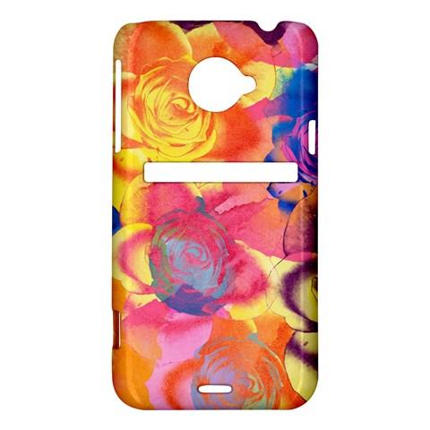 Pop Art Roses HTC Evo 4G LTE Hardshell Case