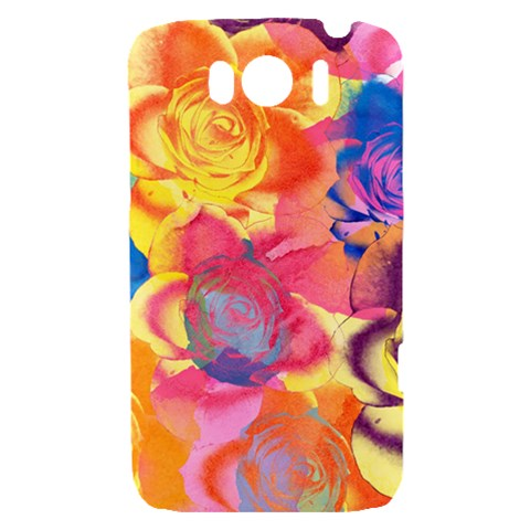 Pop Art Roses HTC Sensation XL Hardshell Case