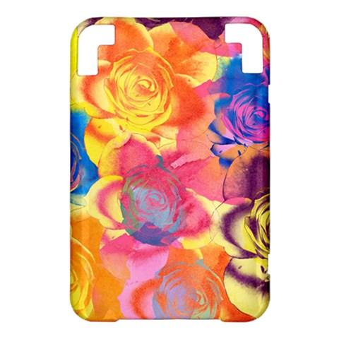 Pop Art Roses Kindle 3 Keyboard 3G