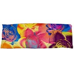 Pop Art Roses Body Pillow Case (Dakimakura)