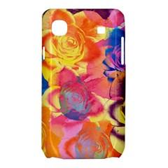 Pop Art Roses Samsung Galaxy SL i9003 Hardshell Case