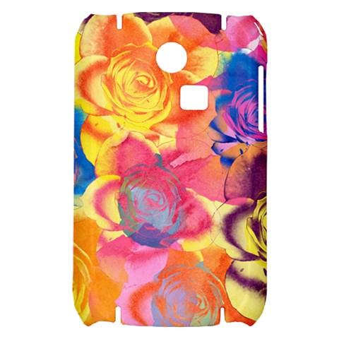 Pop Art Roses Samsung S3350 Hardshell Case