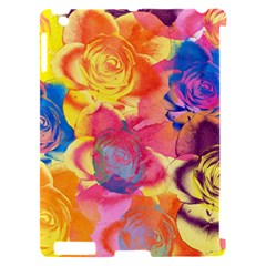Pop Art Roses Apple iPad 2 Hardshell Case (Compatible with Smart Cover)