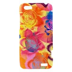 Pop Art Roses HTC One V Hardshell Case