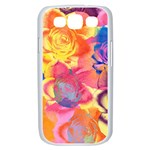 Pop Art Roses Samsung Galaxy S III Case (White) Front