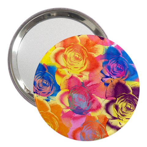 Pop Art Roses 3  Handbag Mirrors