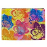 Pop Art Roses Cosmetic Bag (XXL)  Back