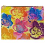 Pop Art Roses Cosmetic Bag (XXXL)  Front