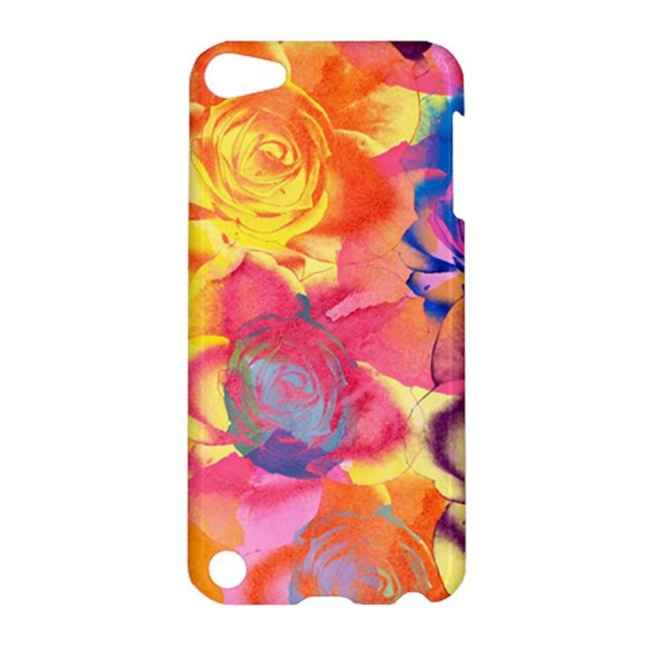 Pop Art Roses Apple iPod Touch 5 Hardshell Case