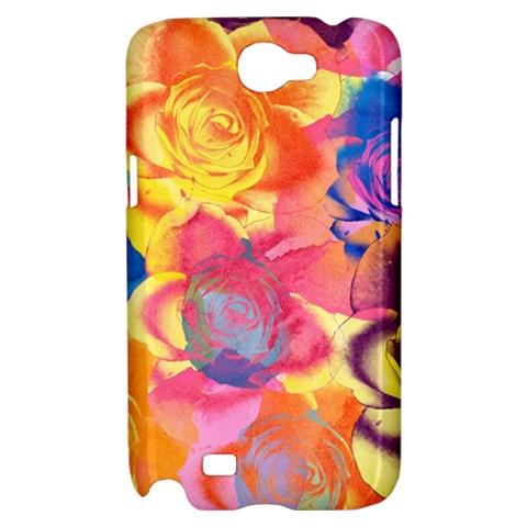 Pop Art Roses Samsung Galaxy Note 2 Hardshell Case