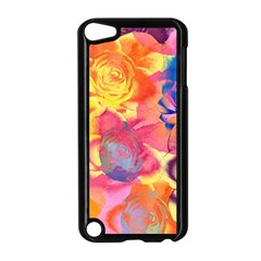 Pop Art Roses Apple iPod Touch 5 Case (Black)