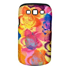 Pop Art Roses Samsung Galaxy S Iii Classic Hardshell Case (pc+silicone)