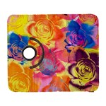 Pop Art Roses Samsung Galaxy S  III Flip 360 Case Front