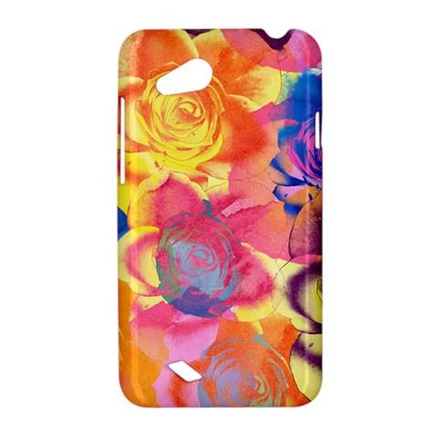 Pop Art Roses HTC Desire VC (T328D) Hardshell Case
