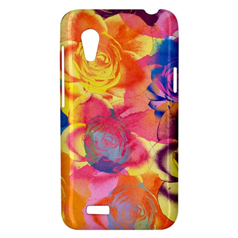 Pop Art Roses HTC Desire VT (T328T) Hardshell Case