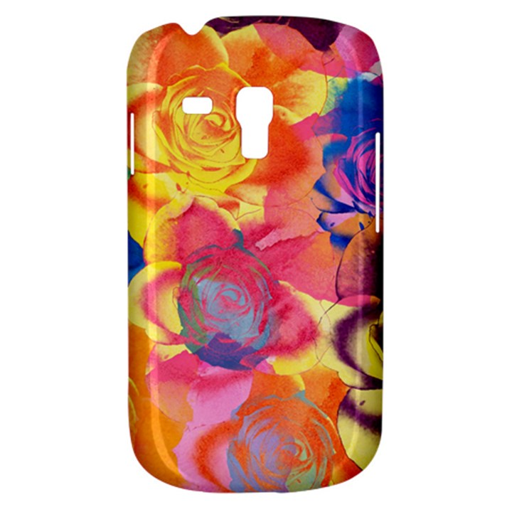 Pop Art Roses Samsung Galaxy S3 MINI I8190 Hardshell Case