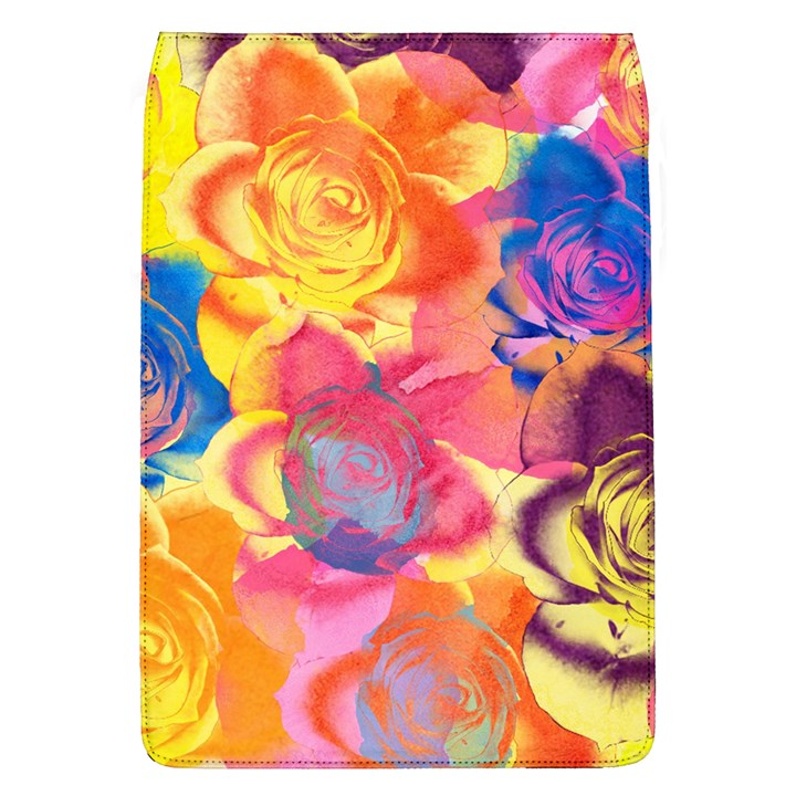 Pop Art Roses Flap Covers (L)