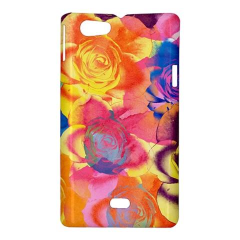 Pop Art Roses Sony Xperia Miro