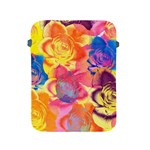 Pop Art Roses Apple iPad 2/3/4 Protective Soft Cases Front