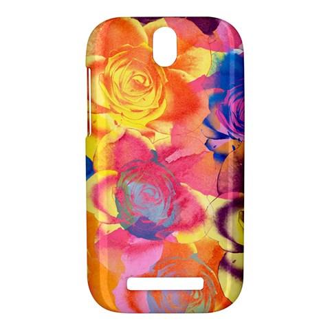 Pop Art Roses HTC One SV Hardshell Case