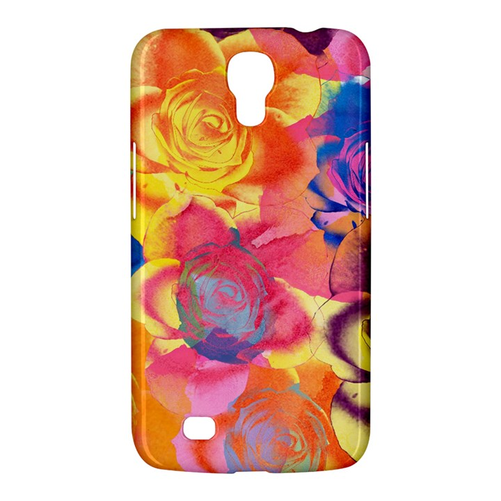 Pop Art Roses Samsung Galaxy Mega 6.3  I9200 Hardshell Case