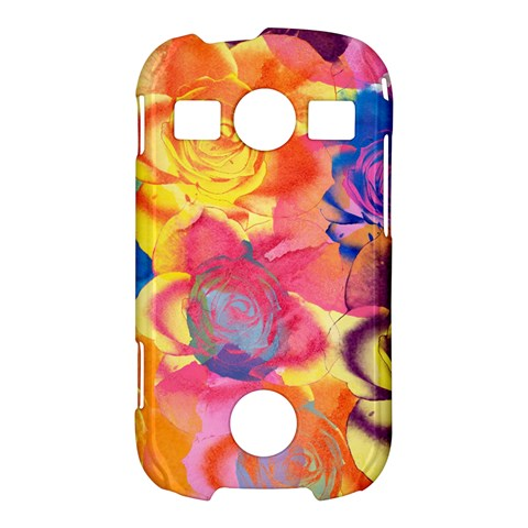 Pop Art Roses Samsung Galaxy S7710 Xcover 2 Hardshell Case