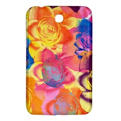 Pop Art Roses Samsung Galaxy Tab 3 (7 ) P3200 Hardshell Case