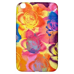 Pop Art Roses Samsung Galaxy Tab 3 (8 ) T3100 Hardshell Case