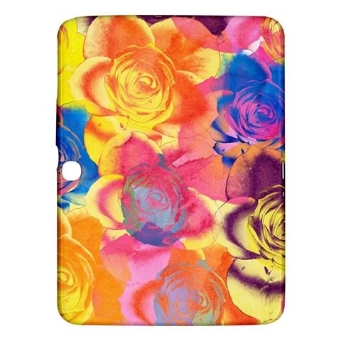 Pop Art Roses Samsung Galaxy Tab 3 (10.1 ) P5200 Hardshell Case