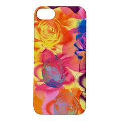 Pop Art Roses Apple Iphone 5s/ Se Hardshell Case