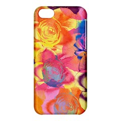 Pop Art Roses Apple iPhone 5C Hardshell Case
