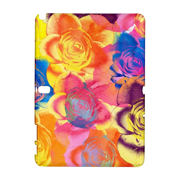 Pop Art Roses Samsung Galaxy Note 10.1 (P600) Hardshell Case