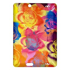 Pop Art Roses Amazon Kindle Fire HD (2013) Hardshell Case