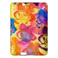 Pop Art Roses Kindle Fire Hdx Hardshell Case