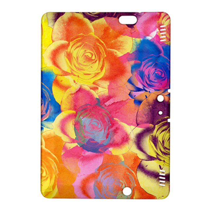 Pop Art Roses Kindle Fire HDX 8.9  Hardshell Case