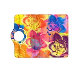 Pop Art Roses Kindle Fire HD (2013) Flip 360 Case