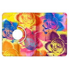 Pop Art Roses Kindle Fire Hdx Flip 360 Case