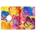 Pop Art Roses Kindle Fire HDX Flip 360 Case Front