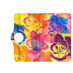 Pop Art Roses Kindle Fire HDX 8.9  Flip 360 Case Front