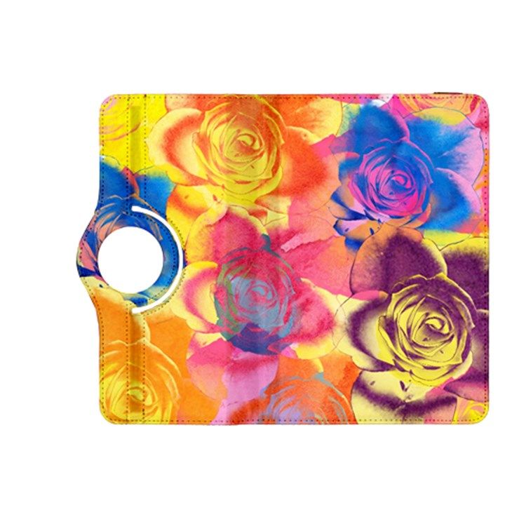 Pop Art Roses Kindle Fire HDX 8.9  Flip 360 Case