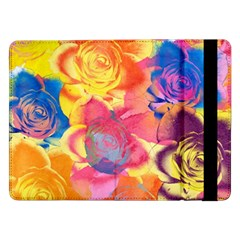 Pop Art Roses Samsung Galaxy Tab Pro 12 2  Flip Case