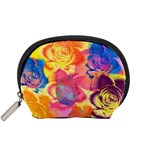 Pop Art Roses Accessory Pouches (Small)  Front