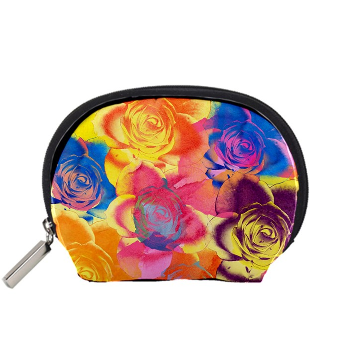 Pop Art Roses Accessory Pouches (Small)